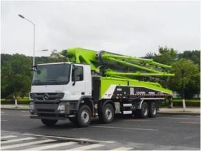 中联重科ZLJ5440THBBE 60X-7RZ复合技术泵车高清图 - 外观