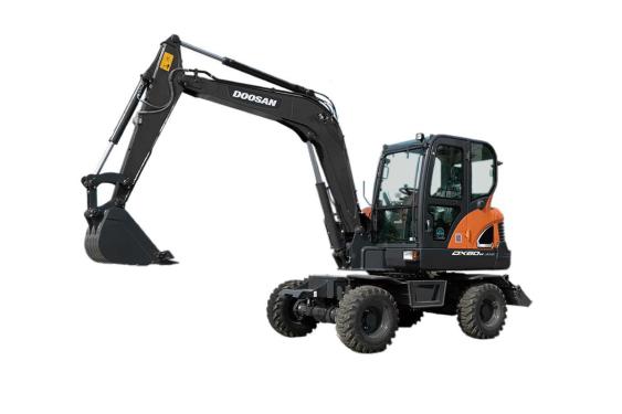 斗山DX60W ECO挖掘机