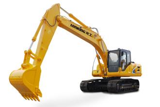 龙工LG6225E履带式液压挖掘机高清图 - 外观