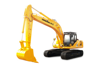 龙工LG6285H履带式液压挖掘机高清图 - 外观