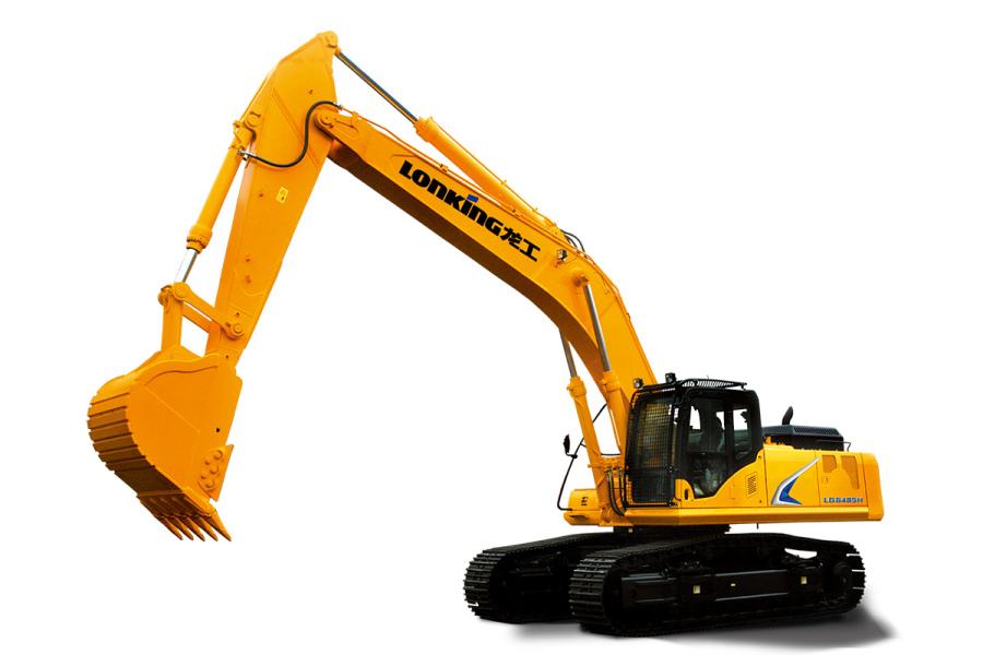 龙工LG6485H履带式液压挖掘机