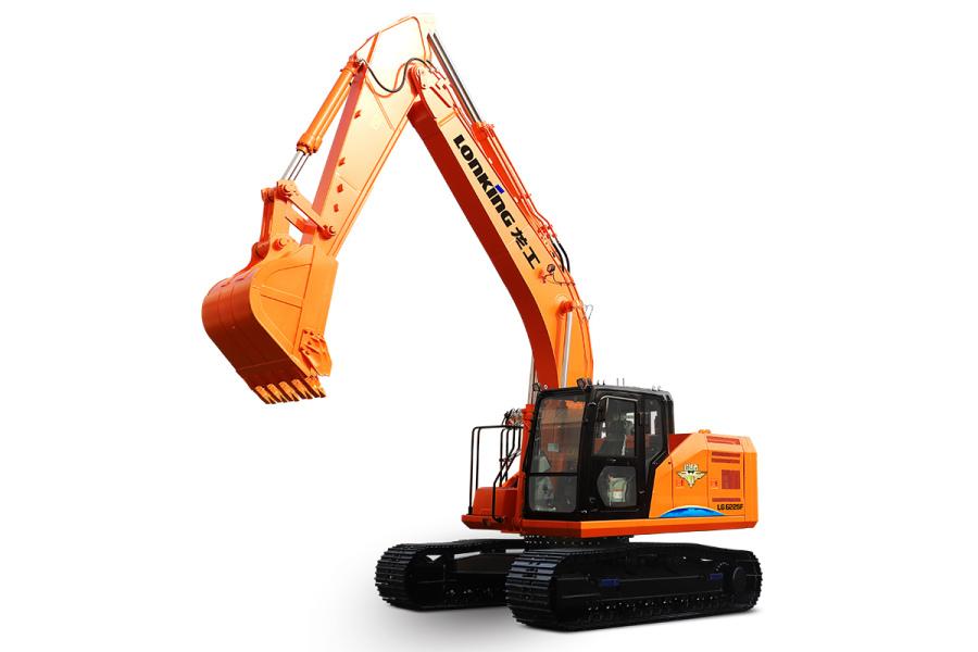 龙工LG6225F履带式液压挖掘机
