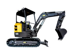 沃尔沃ECR25D挖掘机高清图 - 外观