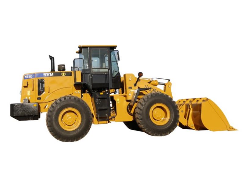 山工机械SEM653D轮式装载机