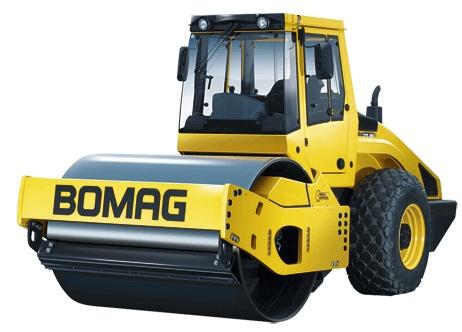 宝马格4系列单钢轮压路机(10吨-15吨)